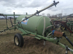 Gehl 95 mix mill hydraulic driven