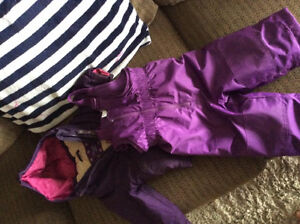 18 month winter girls coat and snow pants