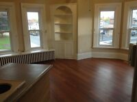 1 BEDROOM upper, with park view!