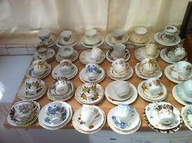Massive vintage market china glass bric a brac job lot