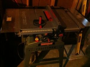 "10"" Craftsman table saw great condition"