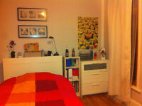 FOR RENT: 625/month, everything incl. 1 bedroom for july-august