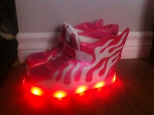 Light up shoes girls size 2