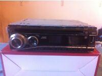 Jvc car stereo. Cd mp3 aux usb