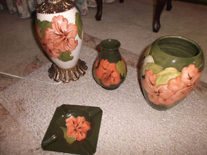 Moorcroft pottery items and other stuff.