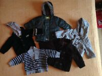 Baby coats/ jackets 3-6 months. Bundle 3