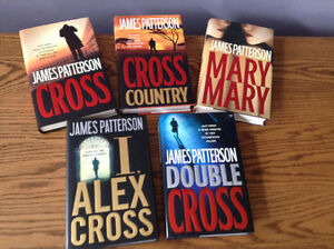 "9 JAMES PATTERSON ""Alex Cross Series"""