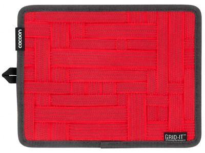 Grid-it Organizer (Cocoon Grid-It Organizer für iPad-Taschen, CPG7RD, Rot)