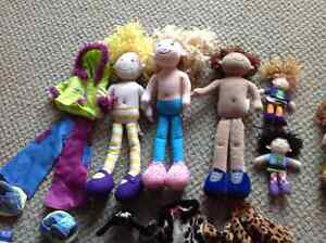 Groovy girls and ty bendables clean ! Kitchener / Waterloo Kitchener Area image 1