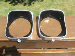 1969 Chevelle and El Camino headlamp trim rings