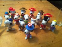 Rare mcds fullset snoopy collectables