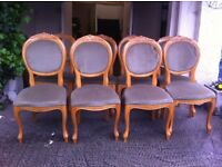 Set of 8 chairs