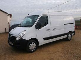 Vauxhall Movano 2.3CDTI 16v ( 100ps ) ( Euro V ) L2H2 Med Roof MWB 3500 van