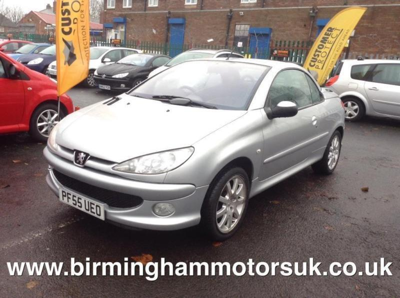 2005 peugeot 206 cc 1 6 sport coupe cabriolet 2dr in stechford west midlands gumtree. Black Bedroom Furniture Sets. Home Design Ideas