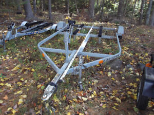 Large Utility Boat Sea Doo Ski Doo ATV or UTV Galvanized Trailer