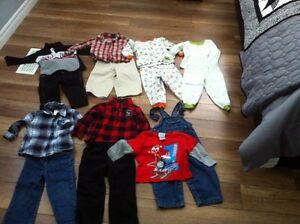 Lot of boys fall/winter clothes 18-24/24 mths