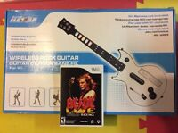 Wii Wireless Rock Guitar/ACDC Rockband Trackpack
