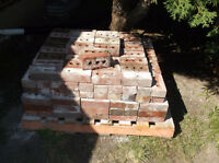 Reclaimed Red Clay Bricks