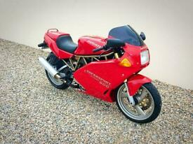 DUCATI 600 SUPERSPORT - JUST 13,000 MILES - GENUINE UK EXAMPLE - POSS PX