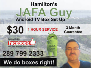 HAMILTONS # 1 ANDROID TV BOX SETUP AND GUARANTEE