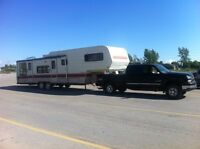 Camper Trailer Towing Service