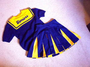 Cheerleader Uniform - Costume - Great for Halloween costume,
