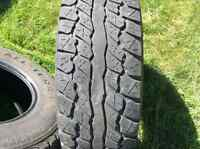 High country all terrain truck tires