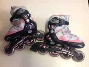 Kids Roller Blades  3 different pairs   Boys and girls.
