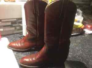 Authentic Mens Size 8 Leather Frye Boots