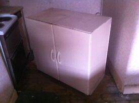 Genuine 1960s metal kitchen cabinet : free Glasgow delivery
