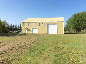 Zoned Industrial - 2400 sq ft shop on 1/2 acre lot