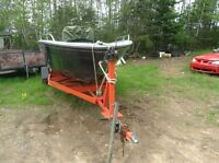 20' boat and trailer for sale