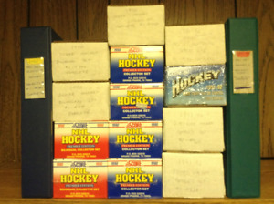 15 Complete Hockey Card Sets (Including Sealed Collector Sets)