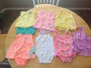 Summer clothes size 9 mths