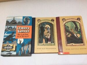 Lemony Snicket Books