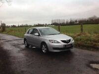 24/7 Trade sales NI Trade Prices for the public 2008 Mazda 3 1.6 D TS Diesel Silver motd April 18
