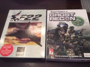 TOM CLANCY'S GHOST RECON AND F22 AIR DOMINANCE FIGHTER