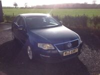 2005 Volkswagen Passat 2.0 SE TDI blue motd October 16 timing belt and clutch just done 6 Speed