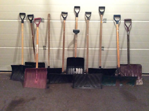SNOW SHOVELS FOR SALE