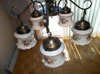 2 lampadaire suspandu