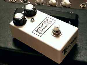 Used Box of Hall reverb by TL Pedals