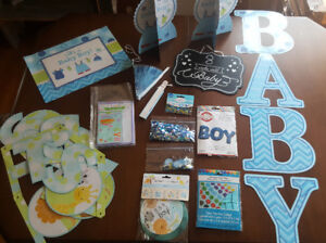 Baby Shower Decorations (baby boy)