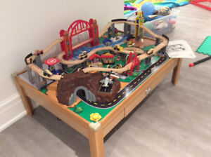 KidKraft City Train table with Set. $35