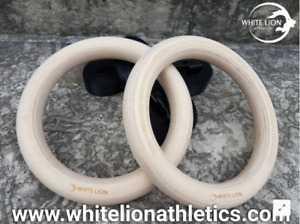 Wooden Gymnastic Rings | Calisthenics, Crossfit, Home GymPlease
