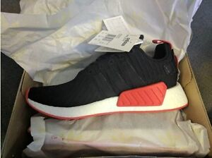 Adidas NMD R2 PK Red-Black Limited UK10/US10.5 Albert Park Port Phillip Preview
