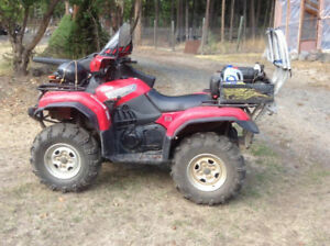 2007 Yamaha Grizzly 660 with Custom Game Lift