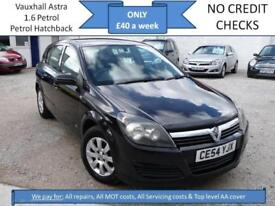 **£40 A WEEK** Vauxhall Astra 1.6i 16v Club, 5DR HATCHBACK, 12M MOT EW CD RCL