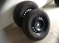 2014 Ford Edge Winter tires on rims for sale