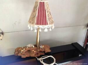 Handmade Lamp Made From A Fire Nozzle