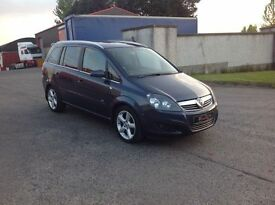 24/7 Trade sales NI Trade prices for the public 2008 Vauxhall Zafira 1.8 SRI full mot